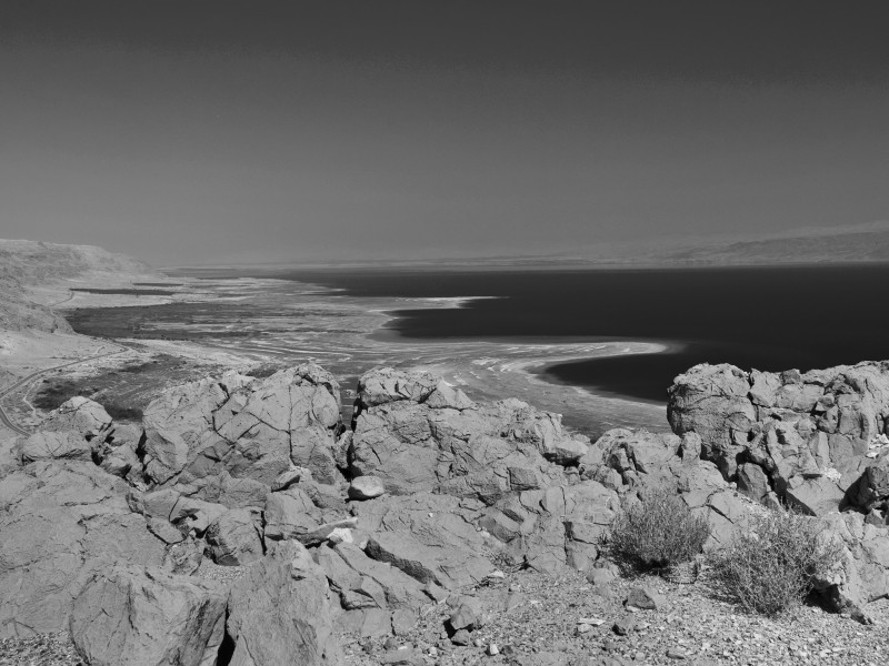 Dead Sea_BW