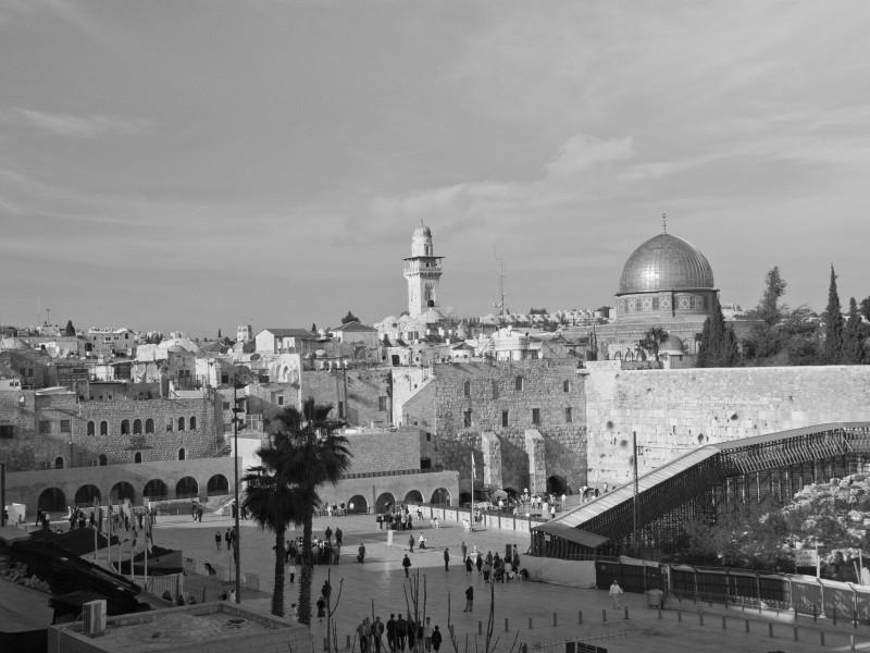 Jerusalem_BW